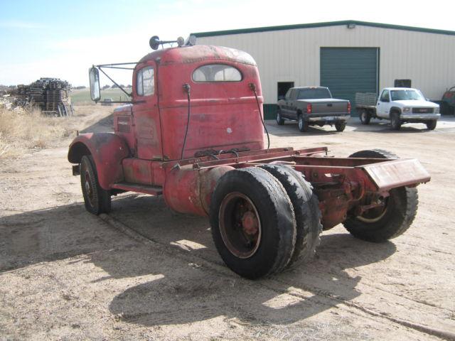 1946 WHITE SUPER POWER SEMI TRUCK