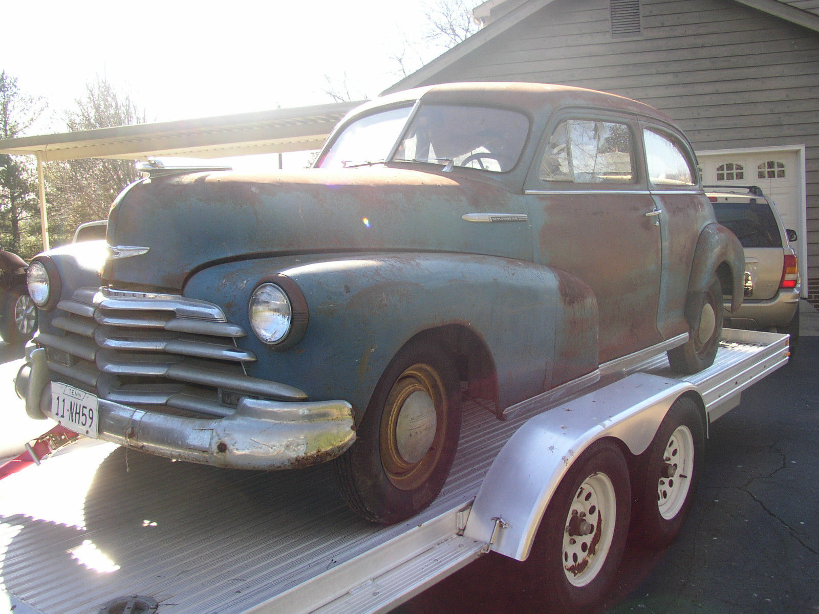 1947 Chevrolet Stylemaster 1 Owner Barn Find