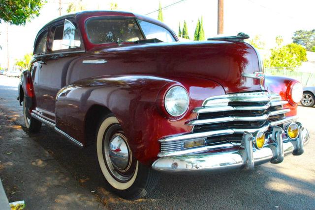 1947 chevrolet stylemaster 2 door business coupe for 1948 chevy 2 door