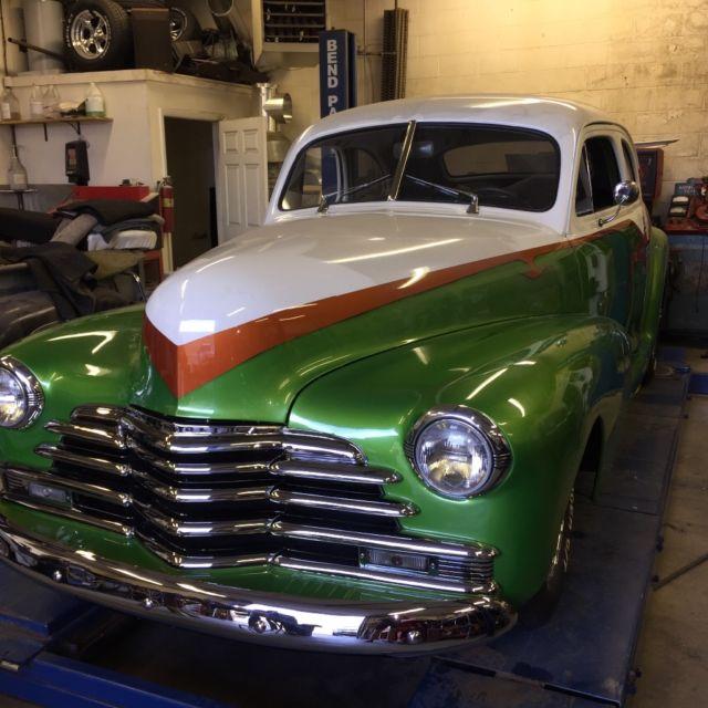 1947 chevy fleet master 2 door coupe hot rod new build for 1947 chevy 2 door coupe