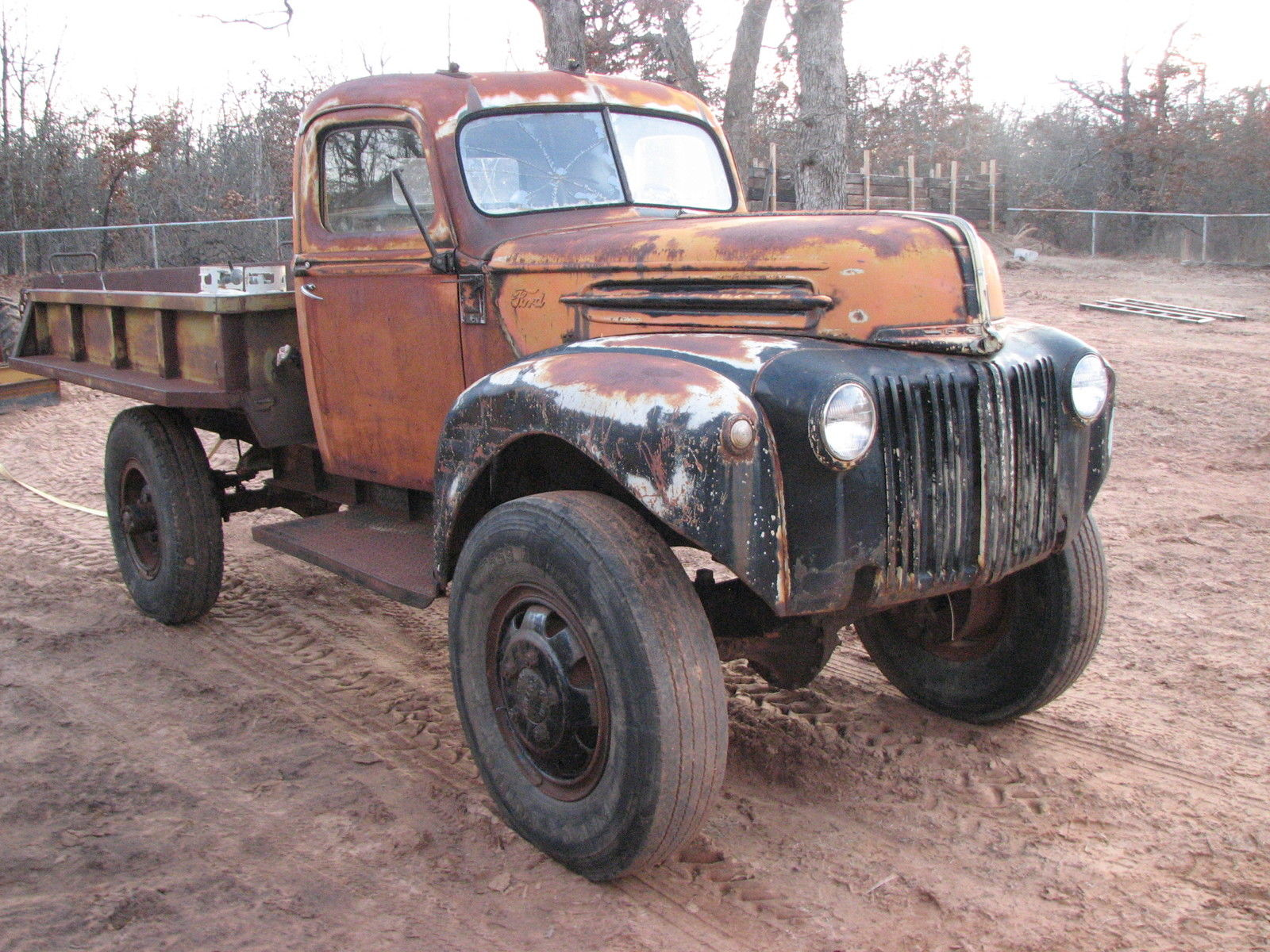 1947 ford 1 1 2 ton rare coleman 4x4 4wd ex military flathead 1 5 ton truck rat for sale in. Black Bedroom Furniture Sets. Home Design Ideas