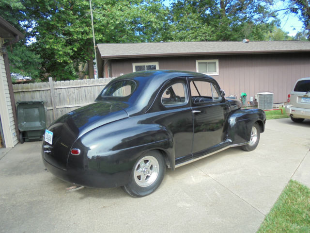 1947 Ford Coupe Fat Fender Project Runs Hot Rod Rat Rod Winter Project