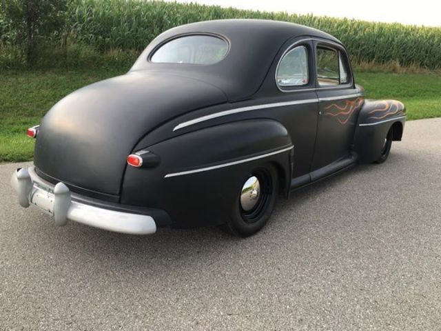 Ford Custom Coupe Hot Rod Rat Rod Hotrod Ratrod