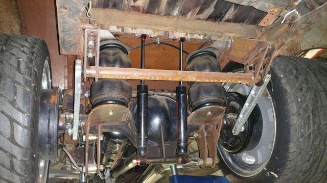 1947 Ford Hot Rod Truck Pro Street Pro Touring Custom Air