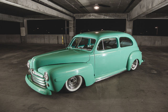 1947 ford hot rod two door daily driver custom air ride for 1947 ford 2 door