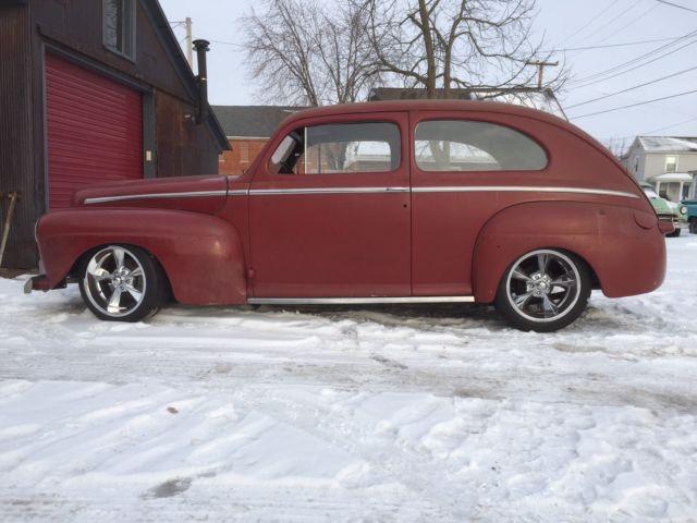 1947 ford tudor sedan delux hot rod rat rod street rod fomoco 47 Sedan Delivery