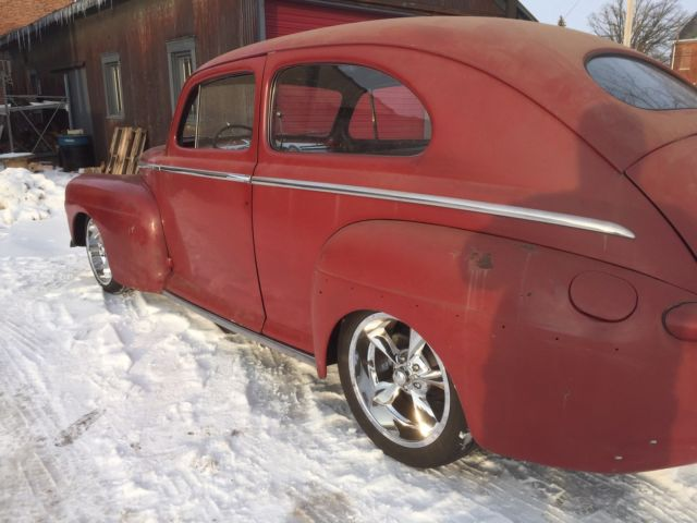 1947 ford tudor sedan delux hot rod rat rod street rod fomoco 1941 Ford Deluxe Tudor Sedan