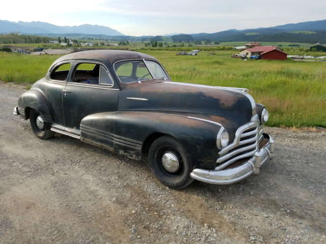 1947 Pontiac Torpedo Sport Business Coupe Runs Amp Drives