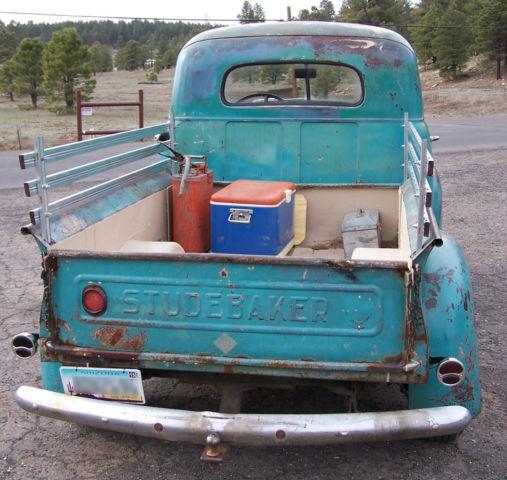 Chevrolet Flagstaff: 1947 Studebaker Truck Hotrod, Ratrod, Custom, Ford, Chevy, M5