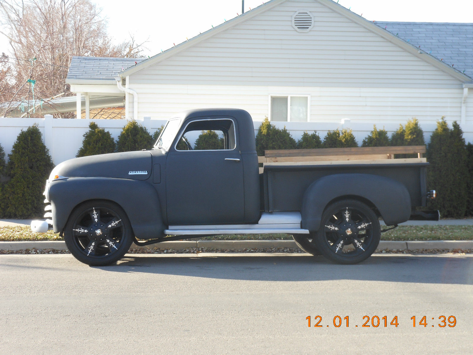 1948 1949 1950 1951 1952 1953 1954 Frame Off Restored Chevy 1 2 52 Ford Pick Up Ton Truck