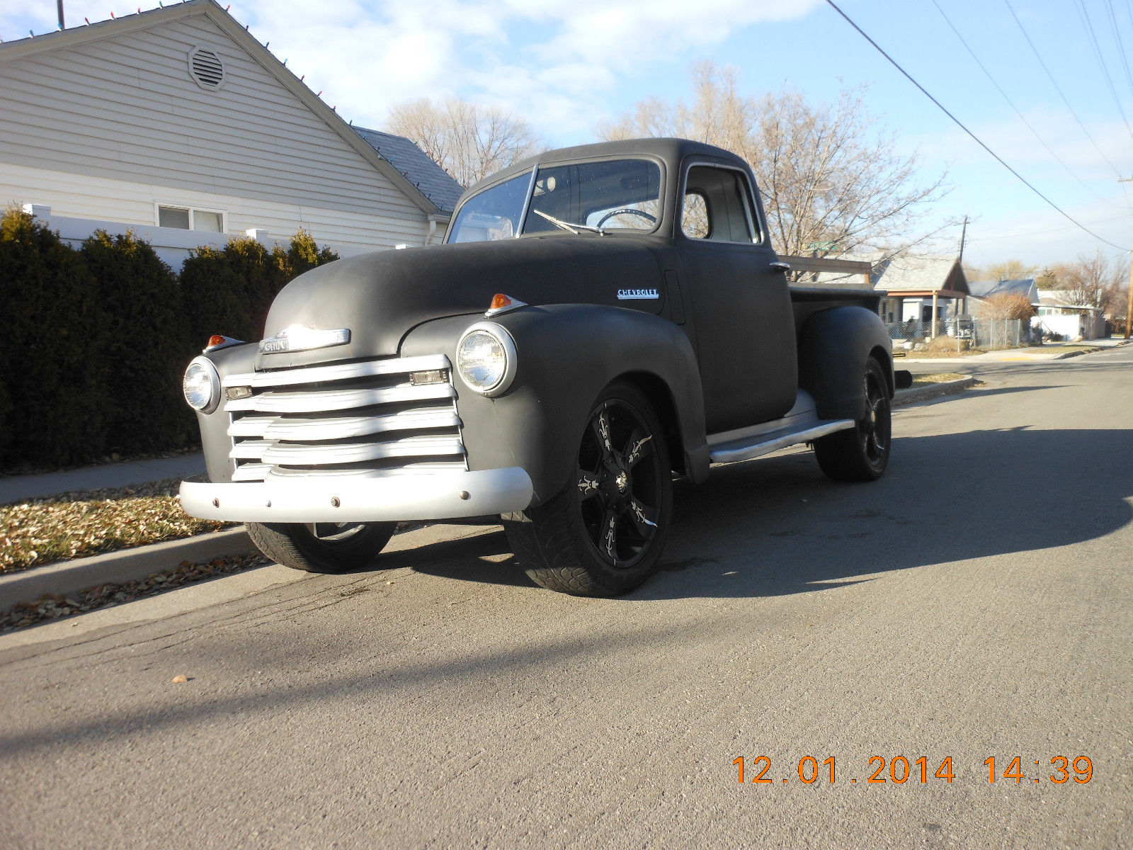 1948 1949 1950 1951 1952 1953 1954 Frame Off Restored Chevy 1 2 Truck Vin Location Ton