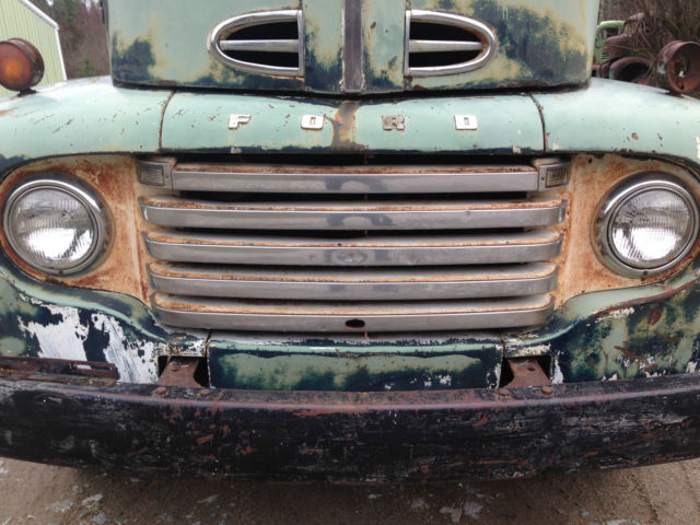 Ford F Coe Cabover Snubnose Cab Amp Chassis Flathead V