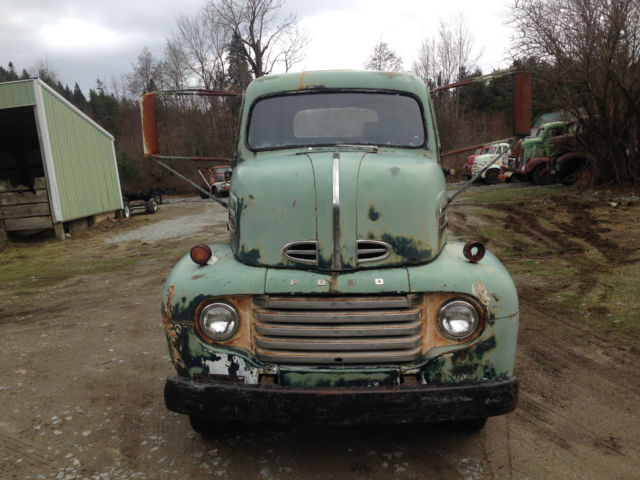 1948 1949 1950 Ford F5 Coe Cabover Snubnose Cab Amp Chassis