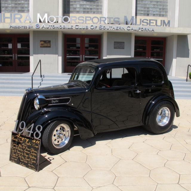 "1948 Anglia ""All Steel Body"" Ford Street Rod"