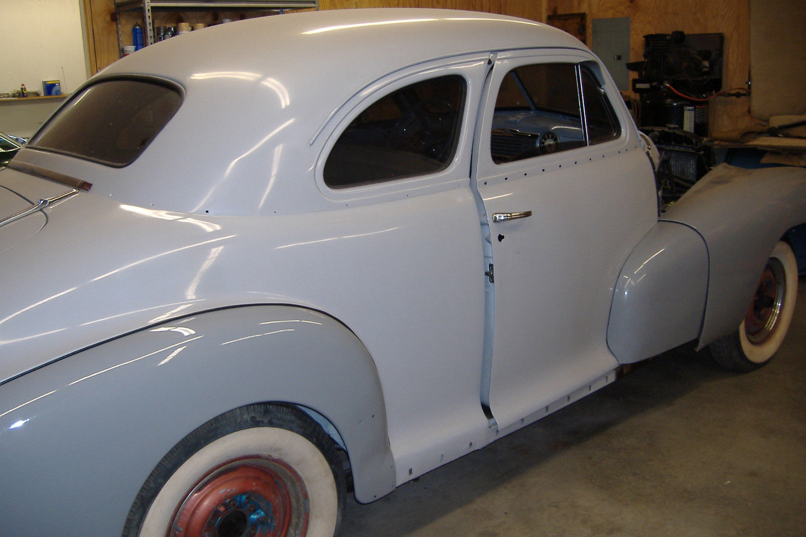 1948 chevrolet 2 door coupe stylemaster 80 restored. Black Bedroom Furniture Sets. Home Design Ideas