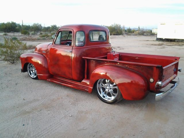 1948 chevy 3100 patina 53 52 51 50 49 54 47 gmc shop truck