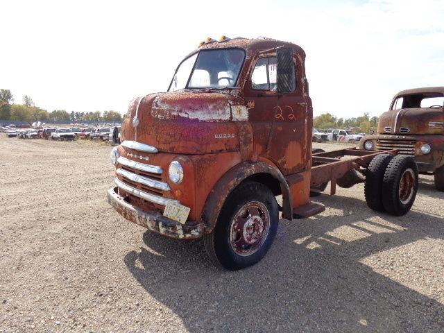 1948 Dodge Cabover Engine Truck Coe 6 Cylinder