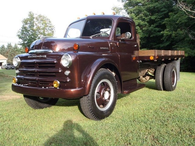 1948 DODGE PILOT HOUSE B SERIES FLATBED 2 TON TRUCK LESS ...  1953 Dodge Flatbed Truck