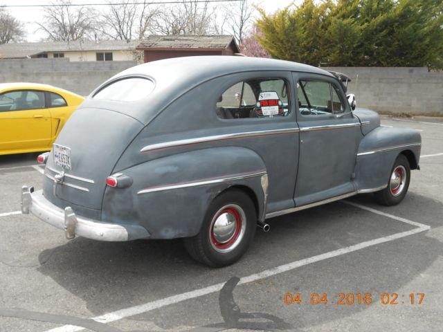 1948 ford 2 door super deluxe sedan old school hot rod for 1948 ford two door sedan