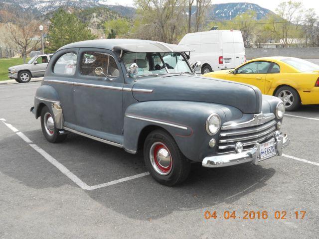 1948 ford 2 door super deluxe sedan old school hot rod for 1948 ford 2 door coupe