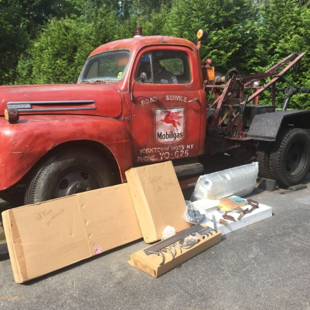 1948 Ford F-6 Vintage Tow Truck