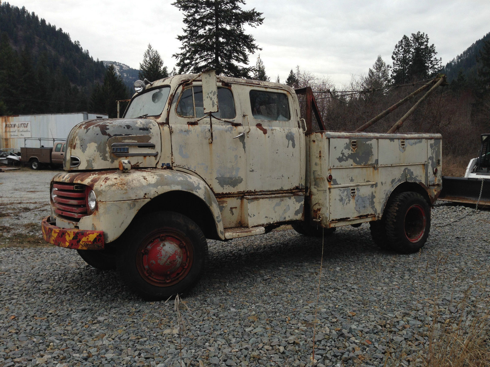1948 Ford F5 Coe Cabover Crewcab Coleman 4x4 Conversion Coast Gaurd 1954 Chevy Truck For Sale Boom
