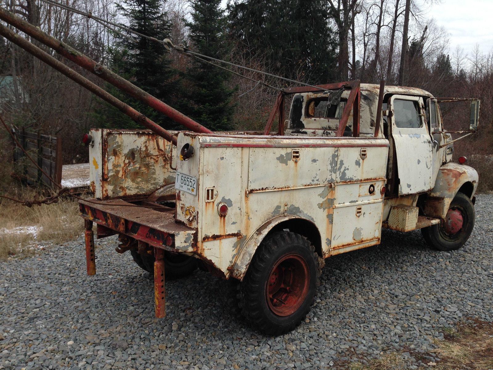 1948 Ford F5 Coe Cabover Crewcab Coleman 4x4 Conversion Coast Gaurd Truck Flathead 6 Boom