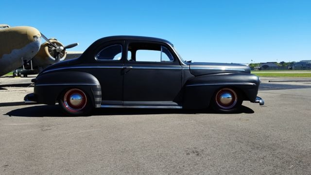 1948 ford super deluxe coupe hot rod. Black Bedroom Furniture Sets. Home Design Ideas