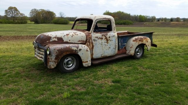 1948 patina gmc model 100 pickup project truck 49 50 51 52 truck. Black Bedroom Furniture Sets. Home Design Ideas