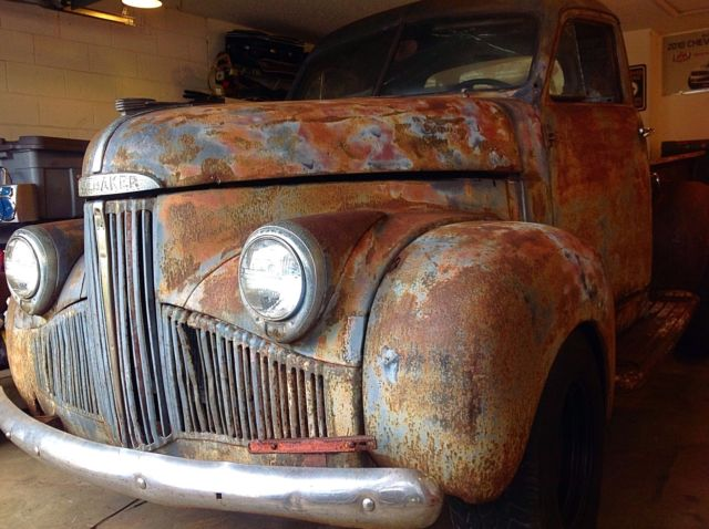 1948 studebaker m5 truck, Barn find, patina, runs,, rat rod, all