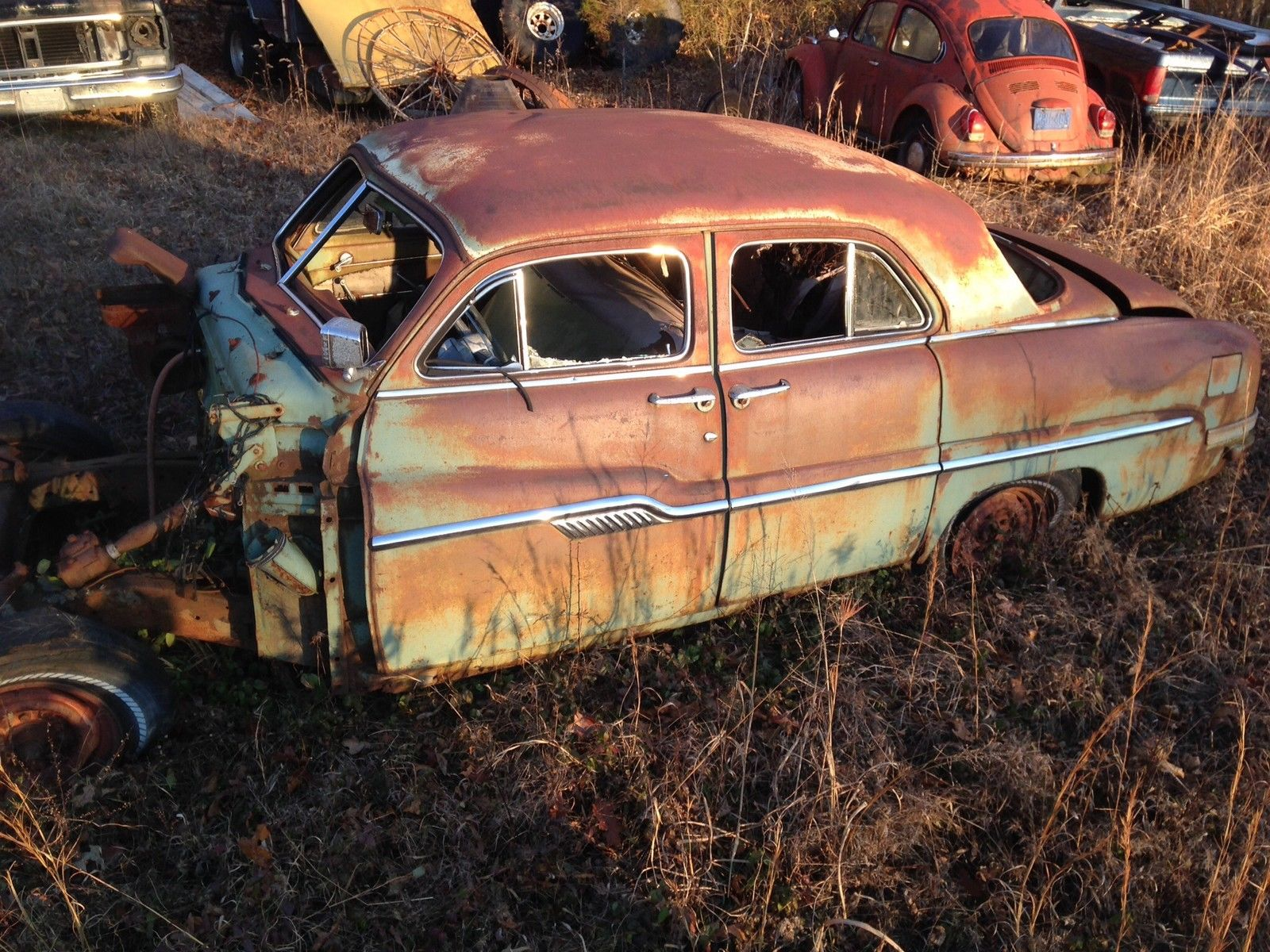 Top Pay For Junk Cars >> 1949-1951 mercury Lincoln led sled hot rod rat rod tail ...
