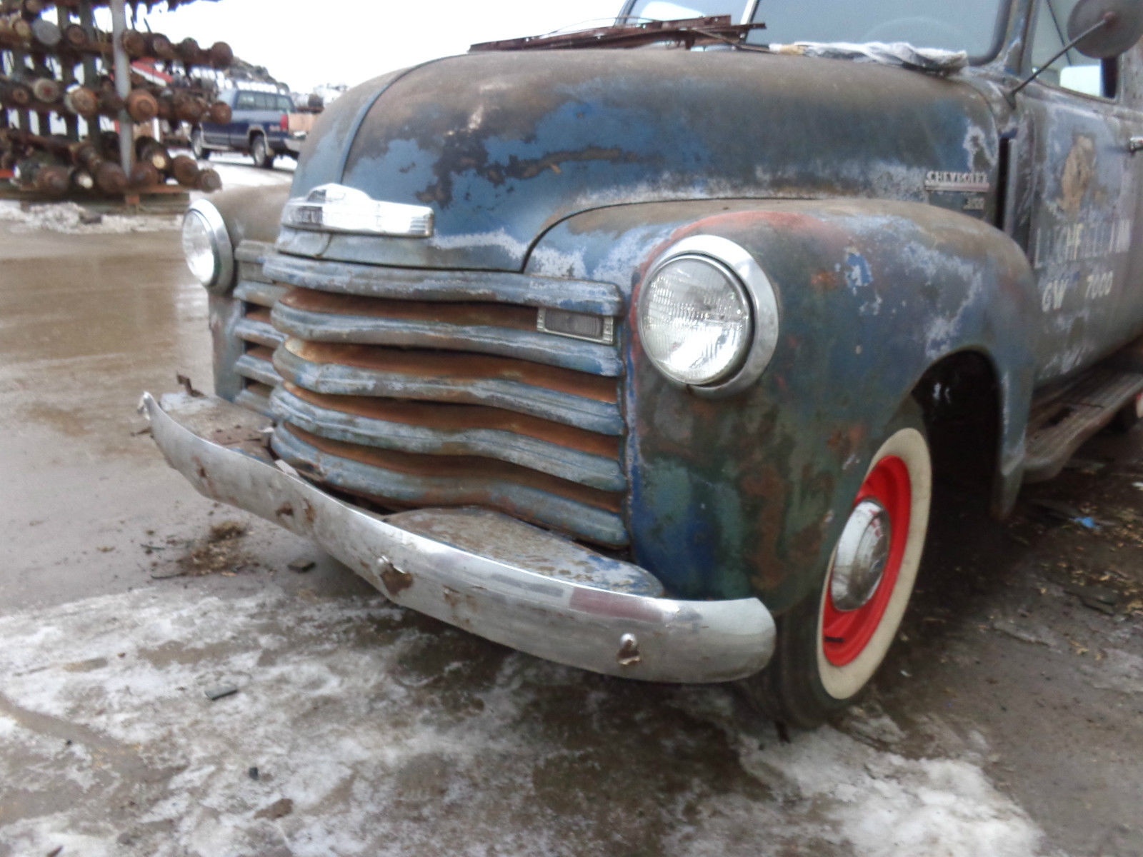 1949 Chevrolet Panel Truck Rat Rod Patina As Found Barn Find Chevy