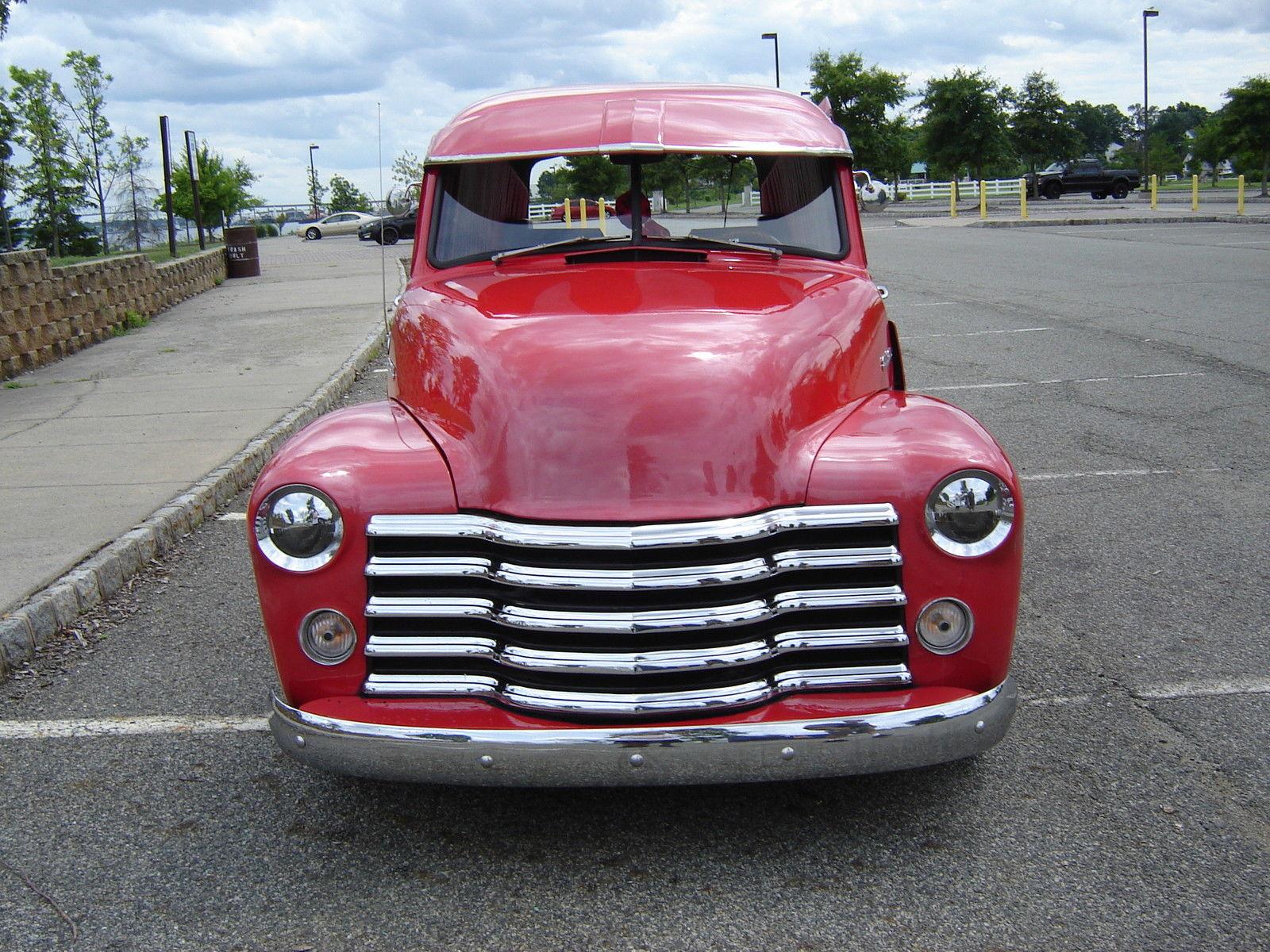 1949 Chevrolet Truck 3100 Panel Chevy Sedan Delivery