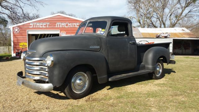 1949 Chevy 5 Window Pickup Truck Running Driving Project Video New Parts