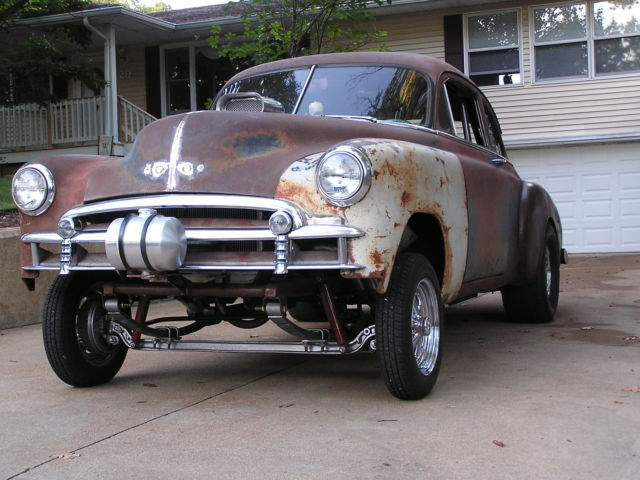 1949 Chevy Business Coupe Pro Street Hot Rod Gasser