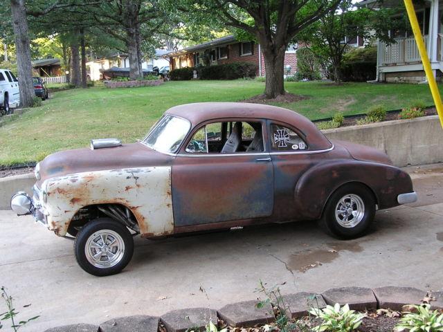 1949 Chevy Business Coupe Pro Street Hot Rod Gasser Street Rod Drag Car Rat