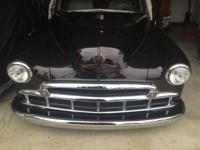 1949 Chevy Chevrolet Fleetline Deluxe 2 Door Sedan Custom