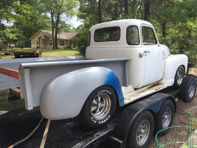 1949 Chevy Truck 5 Window Project Roller Rat Rod Hot Rod