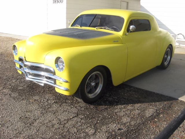 1949 Chopped Plymouth Business Coupe