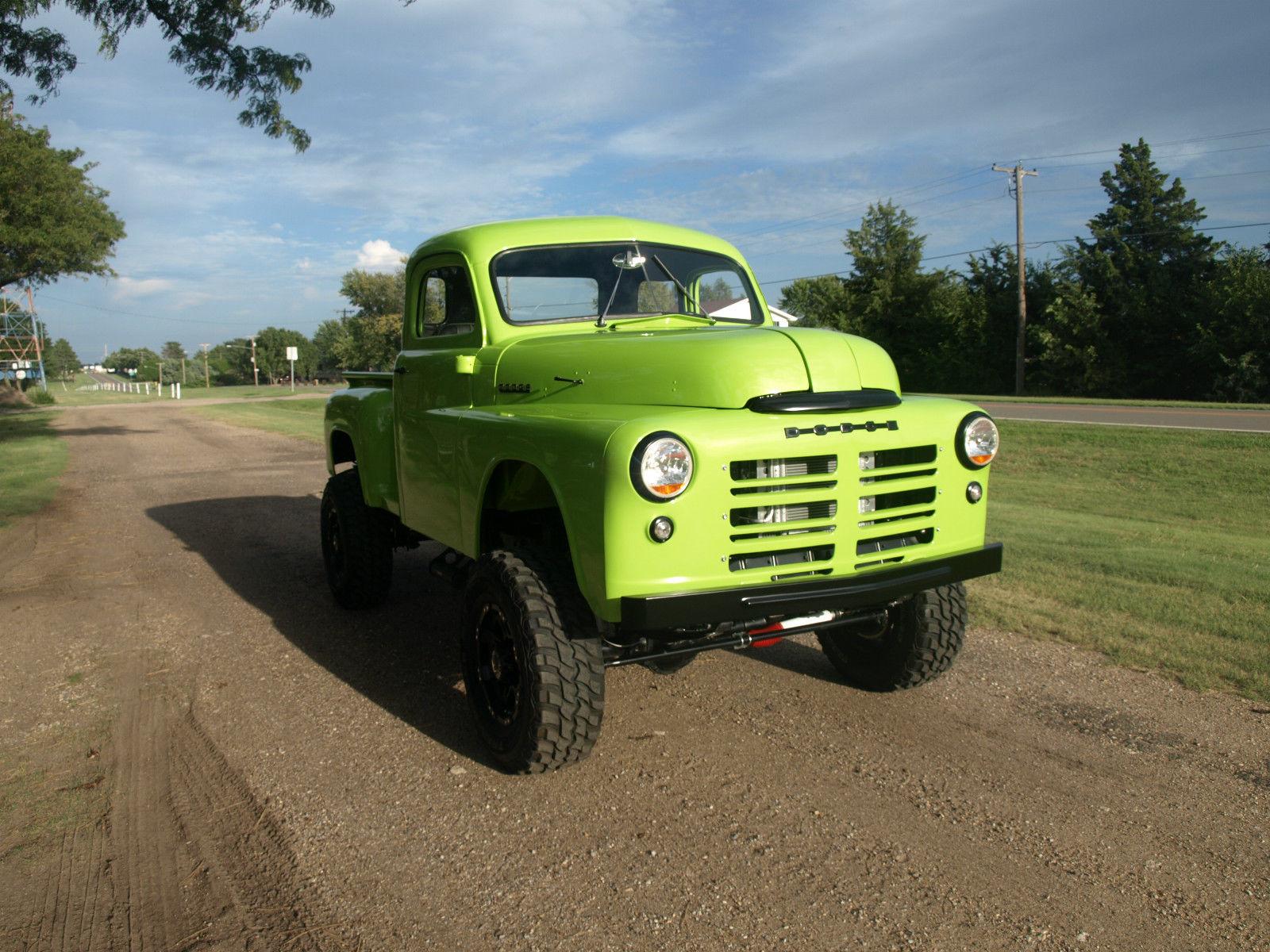 1949 Dodge Truck Stepside Pickup 4wd Custom 4x4