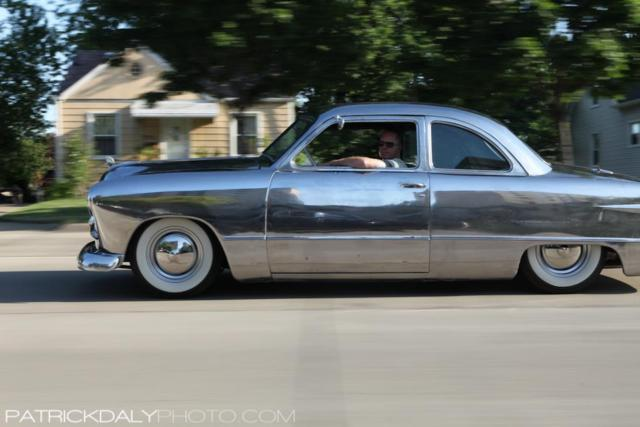 1949 ford business coupe lowered custom hot rod