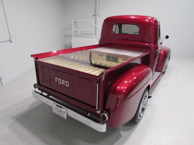 1949 ford pickup crate 5 0 v8 motor all steel body sharp for Crate motors ford f150
