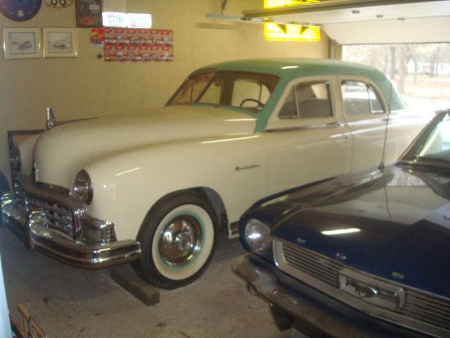 1949 kaiser frazer manhattan 2 owner car since new 1st time offered for sale. Black Bedroom Furniture Sets. Home Design Ideas