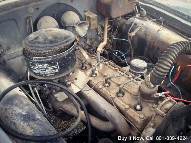1949 pontiac national limo all original barn find for Motor city barn finds