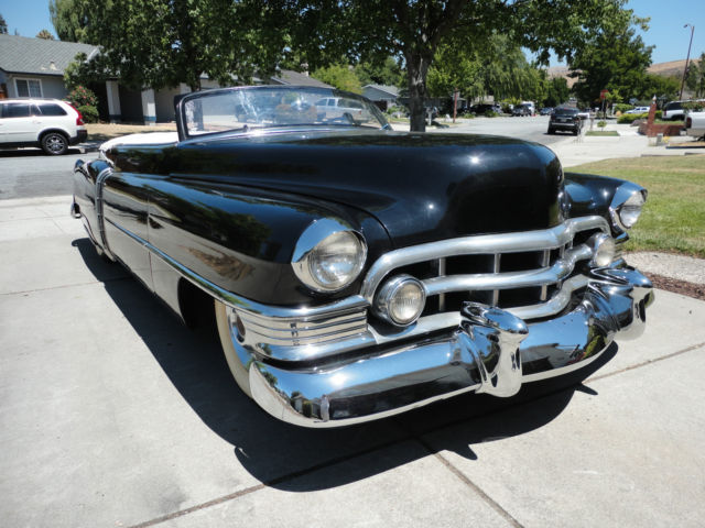 1950 cadillac coupe deville 61 series convertible. Black Bedroom Furniture Sets. Home Design Ideas