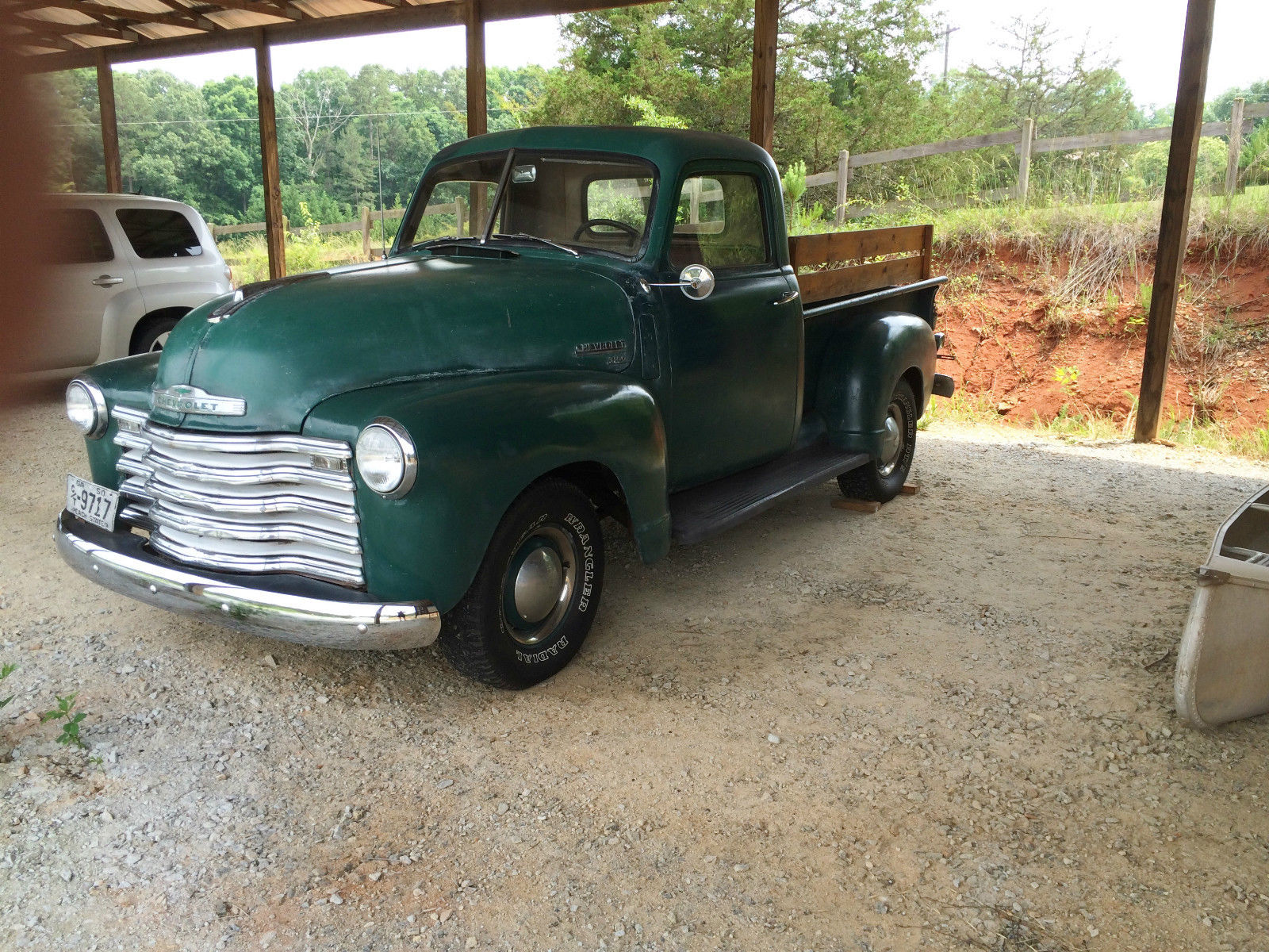 1950 chevrolet 3100 pickup truck runs great for sale in martin georgia united states. Black Bedroom Furniture Sets. Home Design Ideas