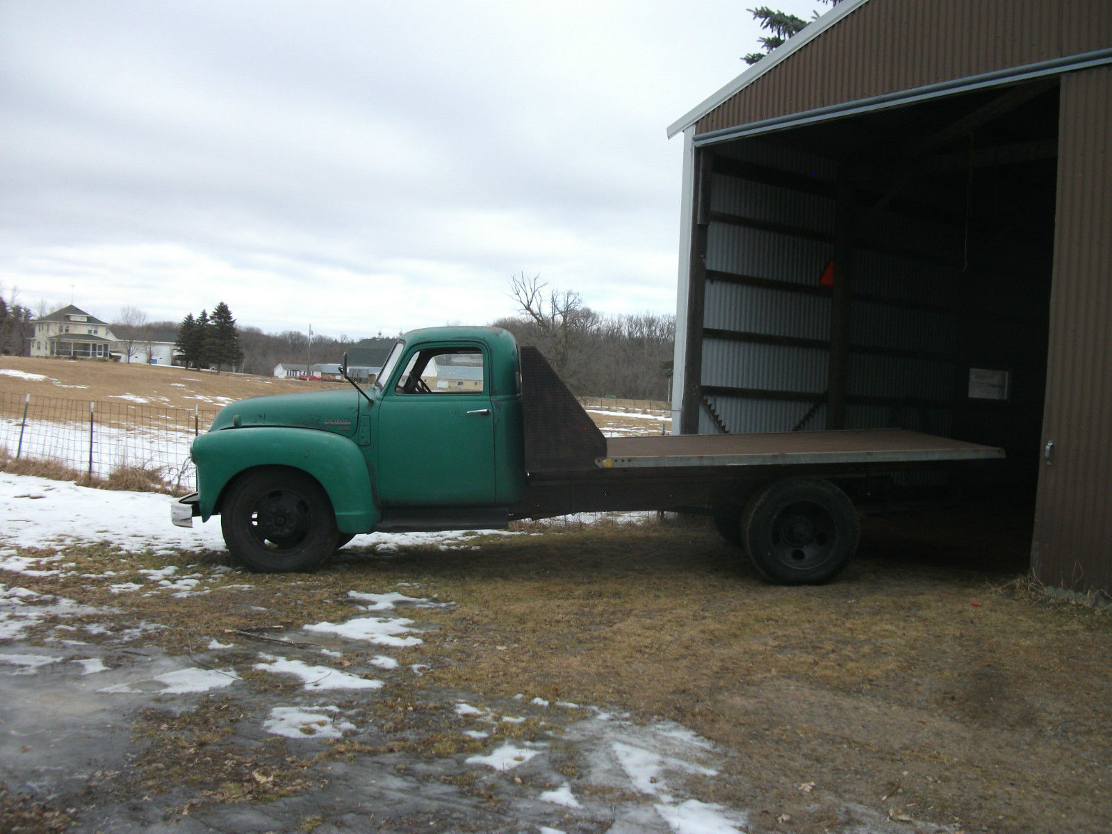 1950 Chevrolet 4400 Stake Truck 55000 Original Miles One Owner 1949 Chevy Vin Location No Reserve