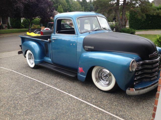 1950 chevrolet  chevy  truck  3100  hot rod  resto