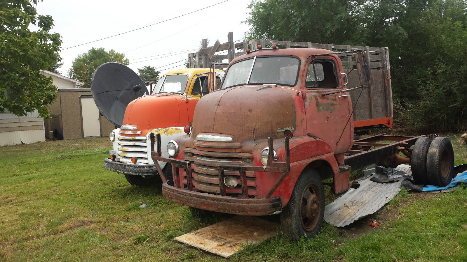 1950 Chevrolet Coe Cabover 2 Ton Dually Ratrod Hot Rod