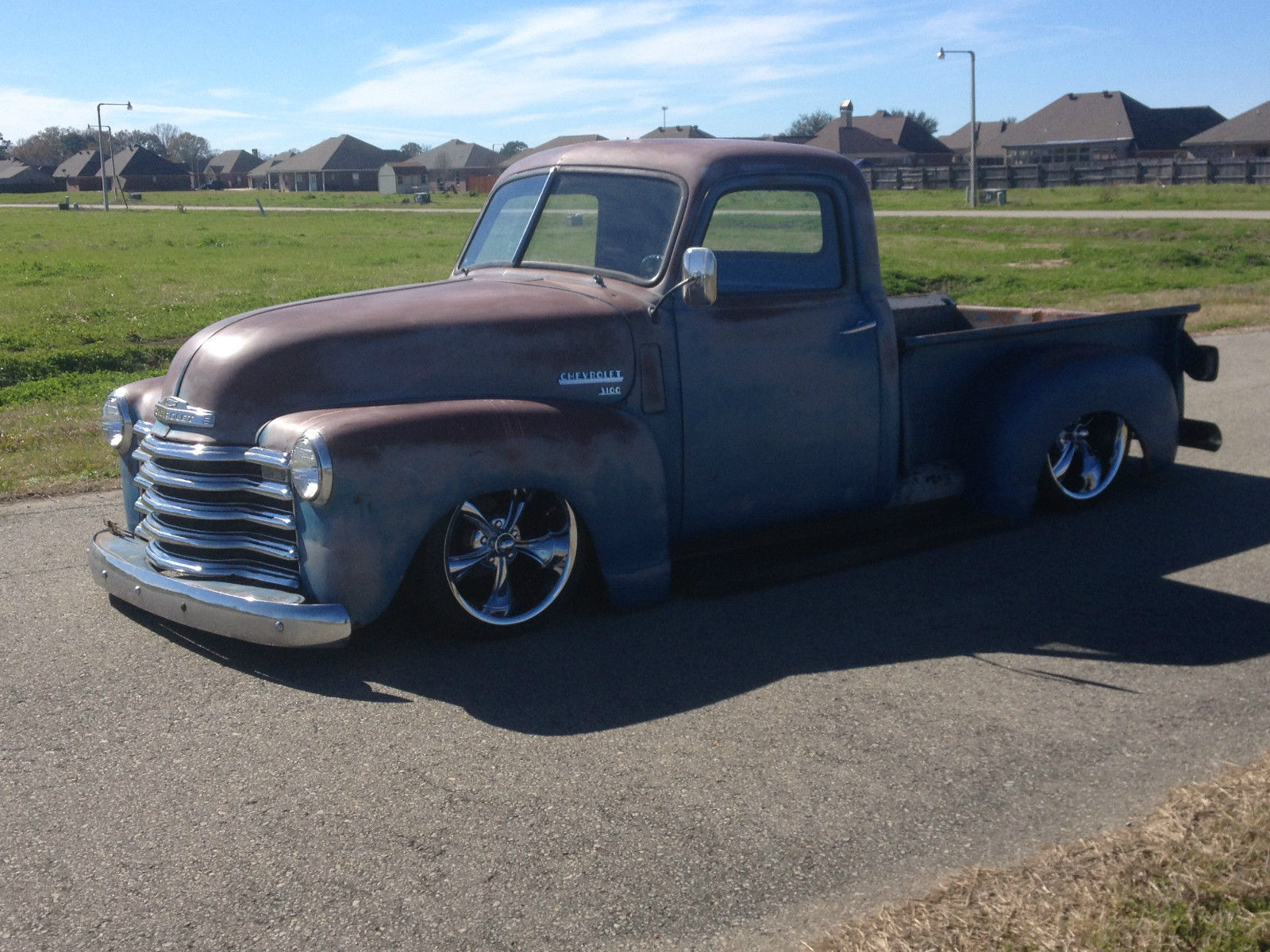 1950 Chevrolet Truck 3100 Patina Air Ride Custom For Sale In New 1949 Chevy Iberia Louisiana United States